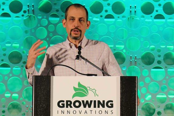 Cannon Michael speaks at Growing Innovations 2018