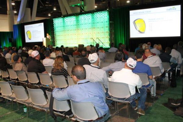 General session crowd at Growing Innovations 2018