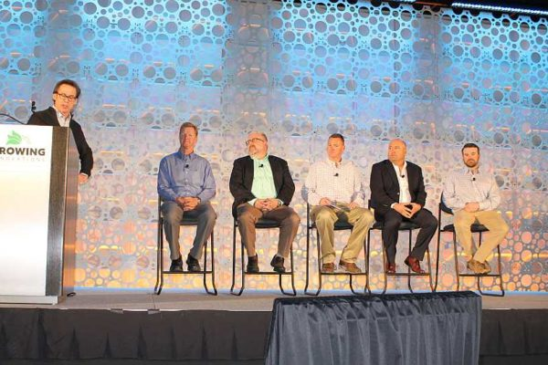 Fireside chat/speaker panel at Growing Innovations 2018